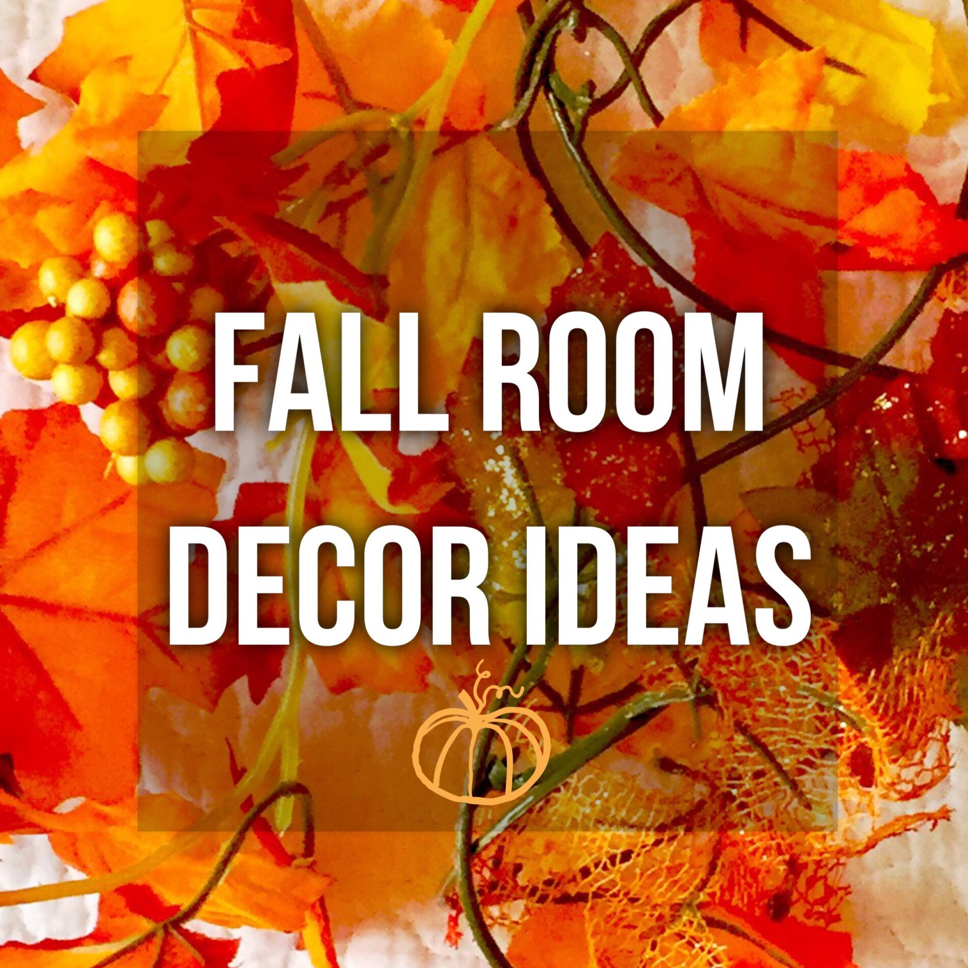 Inexpensive fall room decor ideas xoxokaymo for Inexpensive room decorating ideas