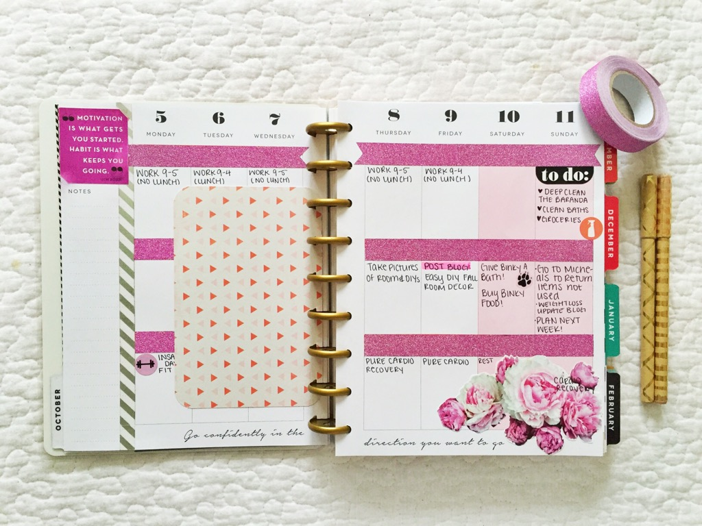 First impressions create 365 happy planner xoxokaymo for Happy planner accessories