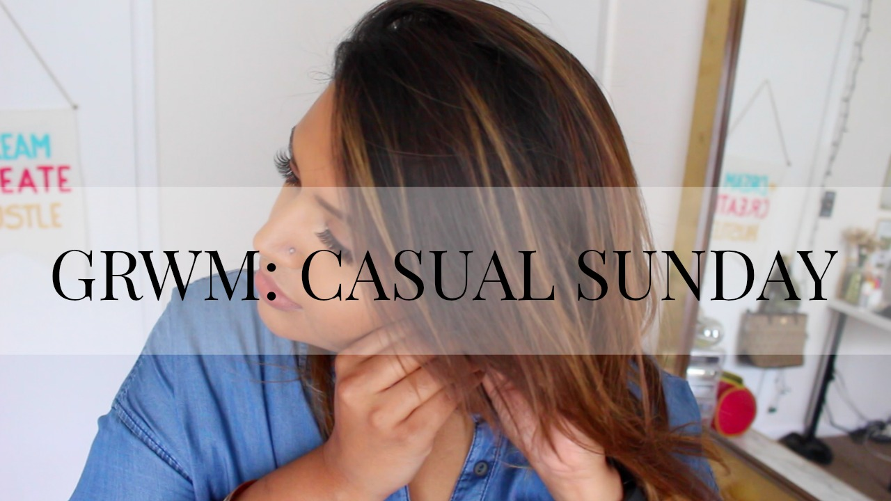 Get Ready With Me: Casual Sunday
