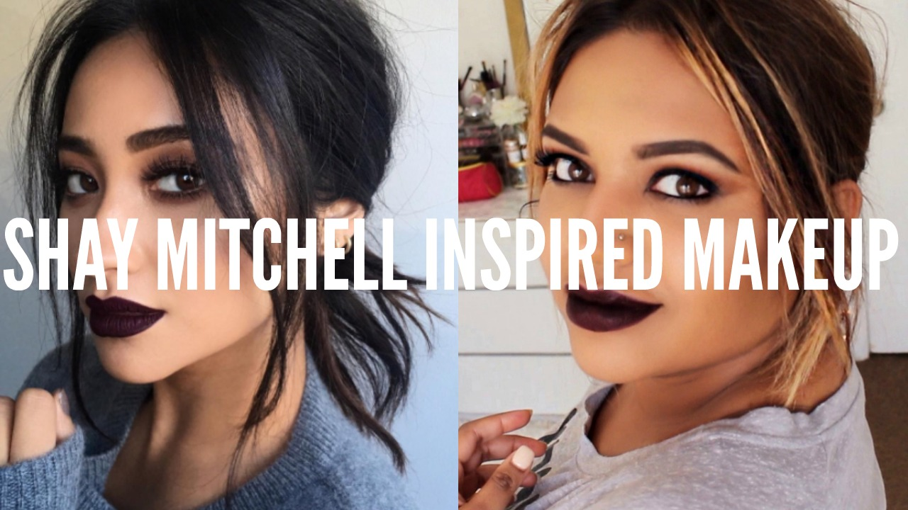 Shay Mitchell Inspired Fall Makeup