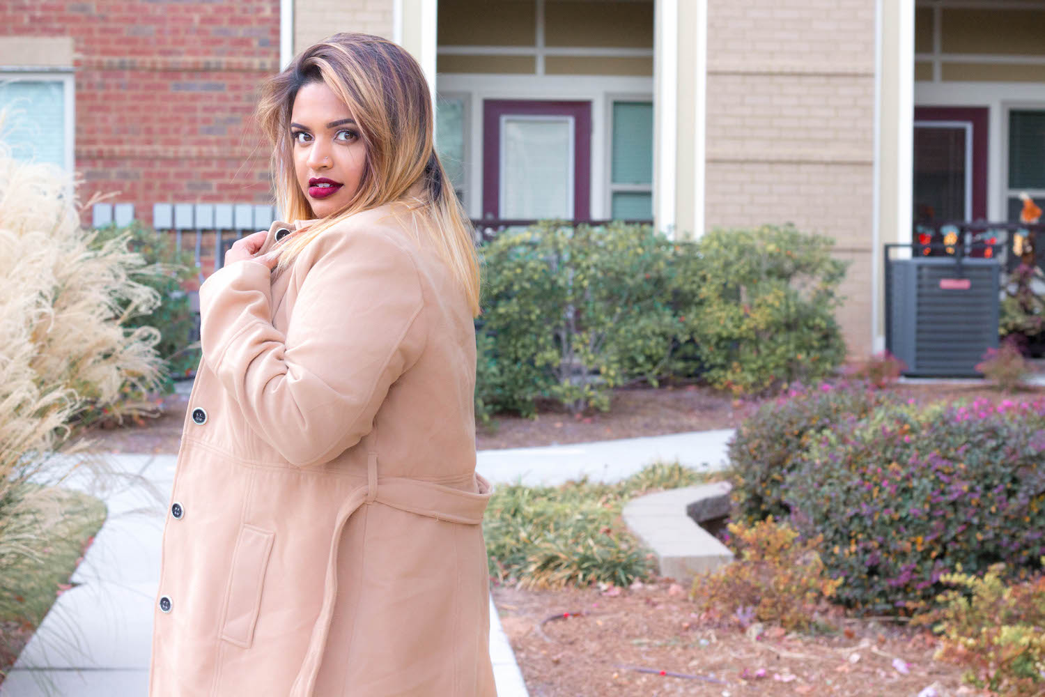 Plus Size Fashion: Classic Camel Coat