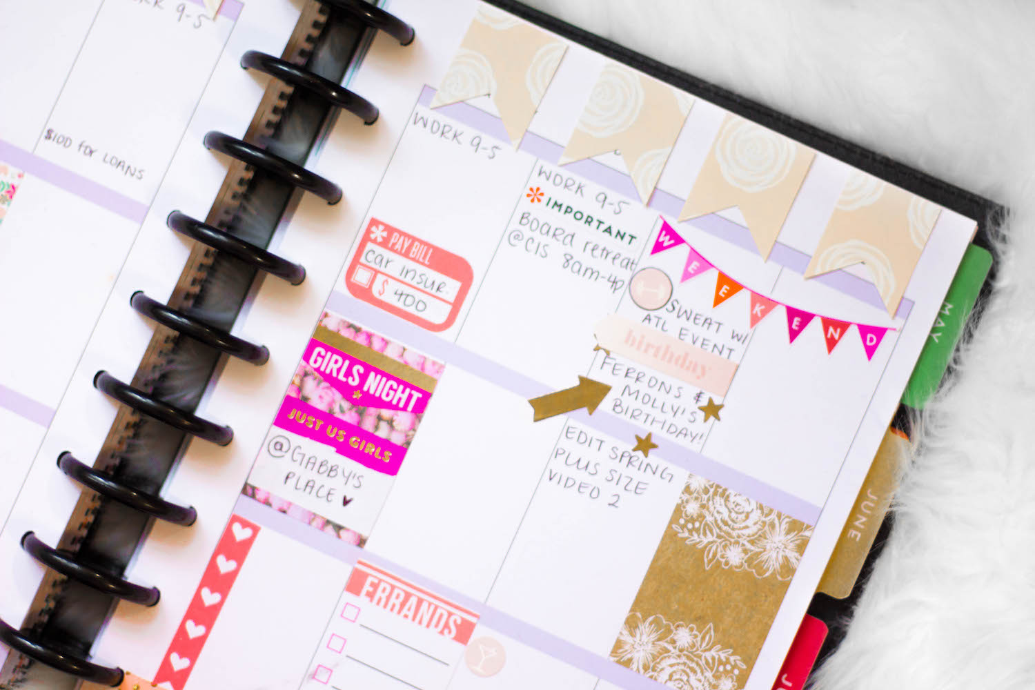 Happy Planner: Week No. 11